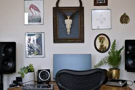 diy apartment furniture. Apartment For Whatever Mode He Is In. In The Living Room, Large  Speakers Loom On Either Side Of A Desk, Only Real Indication That Music Diy Furniture