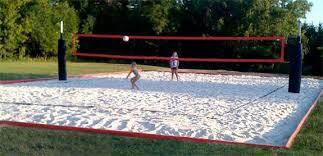 Best 25 Volleyball Court Backyard Ideas On Pinterest  Outdoor Backyard Beach Volleyball Court