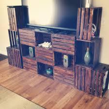 wood crate furniture diy. Crate Furniture DIY TV Stand Wood Diy