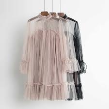 Sanishroly New Women Tie Bow Ruffles Lace Dress <b>Summer</b> V ...