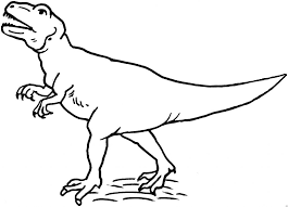 Dinosaur Coloring Pages T Rex Tallexpression Coloring