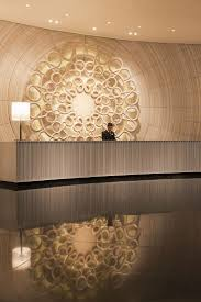 full size of desk luxury reception desk with wood and stone design for beauty salon