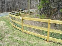 Wood And Wire Fence Wood Frame Wire Mesh Fence cavalcadesorg