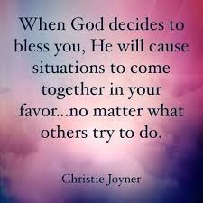 God Blessing Quotes Interesting I Don't Think It's That He Chooses When To Bless U He Always