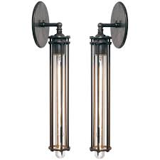 long arm wall sconce lights longcagesconce master with murray feiss lighting candle holders crystal bathroom light switch exterior pot led sconces