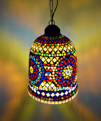 Boho Light Shade Decorative Boho Accent Turkish Pendant Light Fixture Lamp Shade