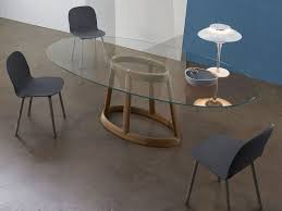 oval glass dining room table of good expandable pertaining to plans within inspirations 4