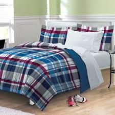 new varsity plaid teen boys bedding comforter sheet set twin xl bed comforters sets target