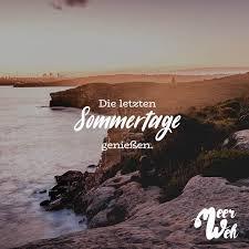 Die Letzten Sommertage Geniessen Meerweh Visual Statements