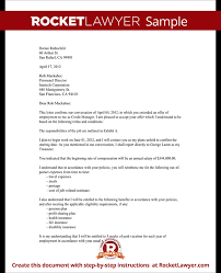 Job Acceptance Letter To Employee Sample Employment Acceptance