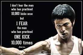 Sidmak Bruce Lee Motivational Quotes Poster Digitally Printed With Matt Laminated Inspiring Wall Poster For Office And Home Size 20 X 30