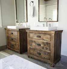 Rustic pine bathroom vanities Country Style Rustic Bathroom Vanities031650x662jpg Ana White Ana White Rustic Bathroom Vanities Diy Projects