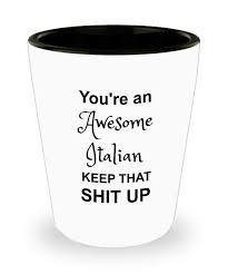 get ations italian gifts italian shot gl funny kitchenware i m nativity novelty coffee tea