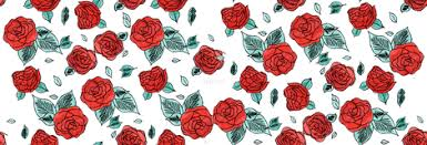 Small Picture Drawn Red Bunch Of Roses Tumblr Dashboard Theme