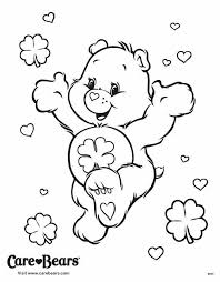 Small Picture Good Luck Bear coloring page Care Bears Good Luck Crafty