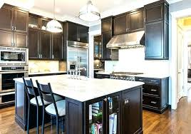 black cabinets with white countertops kitchen dark cabinets contemporary kitchen with dark wood cabinets and white black cabinets with white countertops