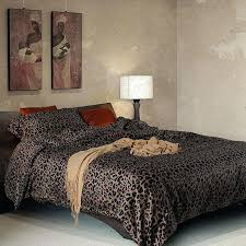 leopard print duvet set king size bedding sets cotton satin twin cover 4 piece leopard duvet cover