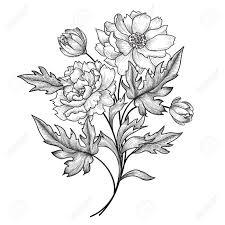 夏の花で花のフレームバラと花の花束ビンテージ花繁栄国境グリーティング カード花の背景