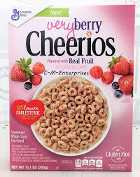 6 17 cheerios very berry sweetened whole grain oat cereal 11 1 oz general mills ebay