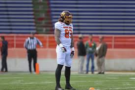 central michigan te tyler conklin goes from walk on to senior bowl moment mlive