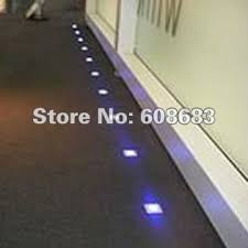 floor led lighting. square floor lamps plinth led lighting set 12v diy 12pcs lights u0026 2pcs 8w led h