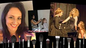 hair and makeup work at spotlight youth theatre