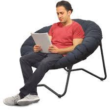 mainstays folding papasan chair navy com