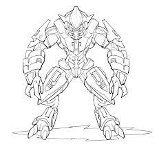 halo elite coloring pages sesiweb us