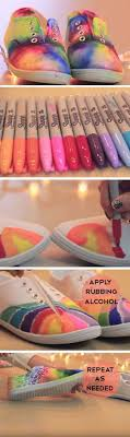 best diy rainbow crafts ideas rainbow shoes fun diy projects with rainbows m