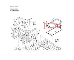 Mep003a bottom battery rack 72 5026