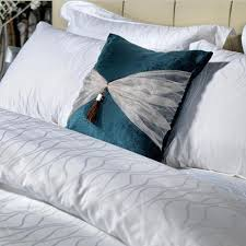 100 cotton jacquard quality white bed sheet hotel bedding set