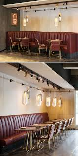 restaurant pendant lighting. This Restaurant Is Filled With Pendant Lighting On A Pulley System X