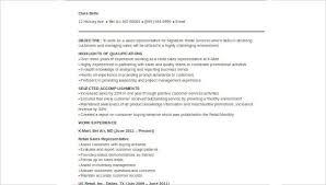 Sample Of Sales Resumes Sample Retail Sales Resume 8 Examples In Word Pdf