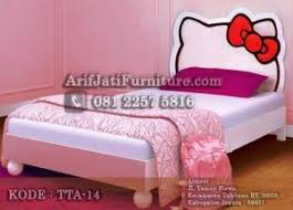 hello kitty furniture. Tempat Tidur Anak Hello Kitty Terbaru Furniture