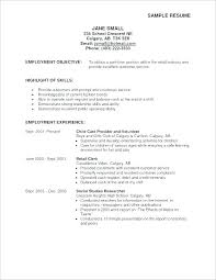 General Resume Examples Gorgeous Sample Objectives For Resumes General Job Objective For Resume Job