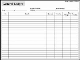 Simple General Ledger A Simple General Ledger Reconciliation 253916843015 Format Of