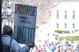 students officials divided on legalization of marijuana in mich ann arbor residents gather to celebrate hash bash on the diag on 1 2017