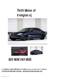 Used Car Dealer Flyer Template Postermywall