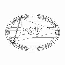 Voetbal Kleurplaat Geïnspireerd Voetbal Logo Kleurplaten Archidev