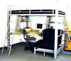 metal bunk bed with desk. Delighful Bunk Bunk Bed With Desk On Bottom Beds W Futon Full Size Best  Loft For Metal Bunk Bed With Desk D
