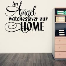 >amazon hot an angel watches over our home vinyl wall art quote  amazon hot an angel watches over our home vinyl wall art quote stickers religious decals home