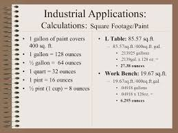 gallon of paint covers slide endearing industrial square footage sq with how to calculate sq ft