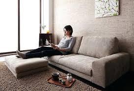 low profile sofa. Low Profile Lounge Furniture Simple Floor Sofa With Ottoman