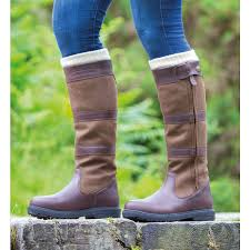 shires moretta nella tall full zip waterproof country boots for equine