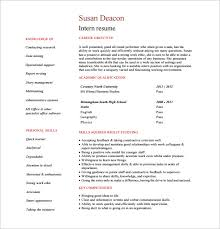 check out this very cool and hip internship resume design the layout and structure is such that it lets you shed a light on your personality attributes and internship resume templates