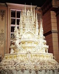 11 Huge Castle Wedding Cakes Photo Big Castle Wedding Cake Big