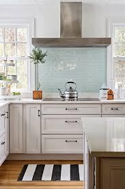 Kitchen With Subway Tile Backsplash Concept