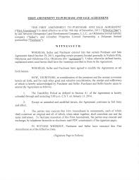 Purchase And Sales Agreement Exhibit 2424 Purchase And Sale Agreement 4