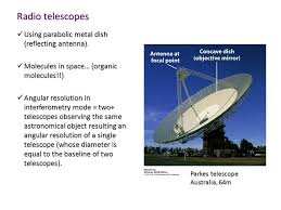 a radio telescope and an optical telescope of the same size have the same angular resolution modern telescopes lecture 12 imaging astronomy in 19c photography