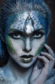 por mermaid fall makeup for beauty women 04 101outfit